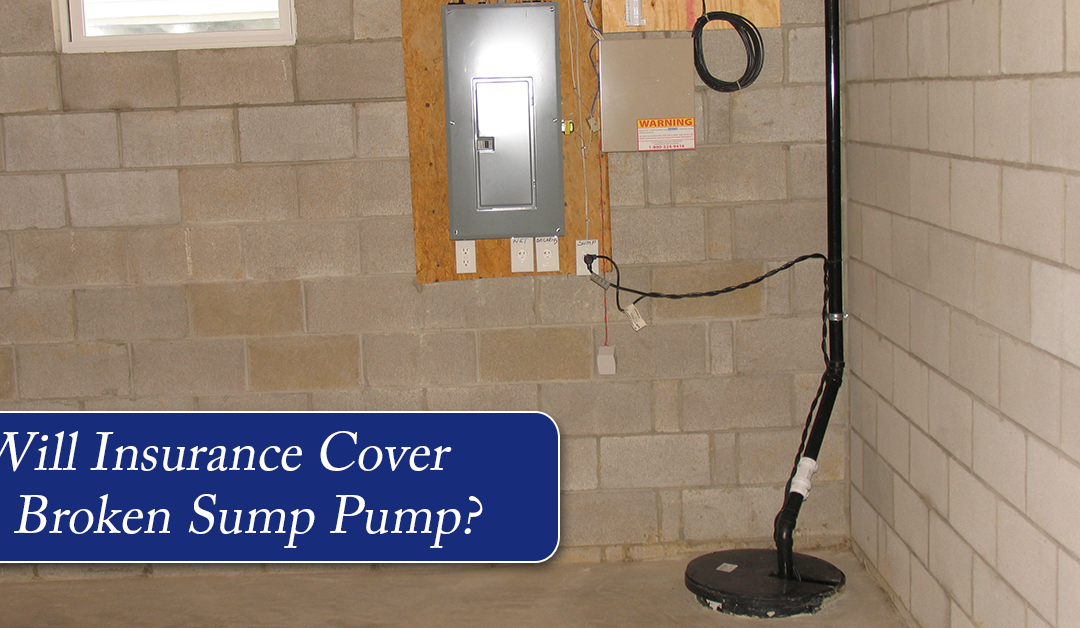 Will Homeowners Insurance Cover Sump Pump Failure?
