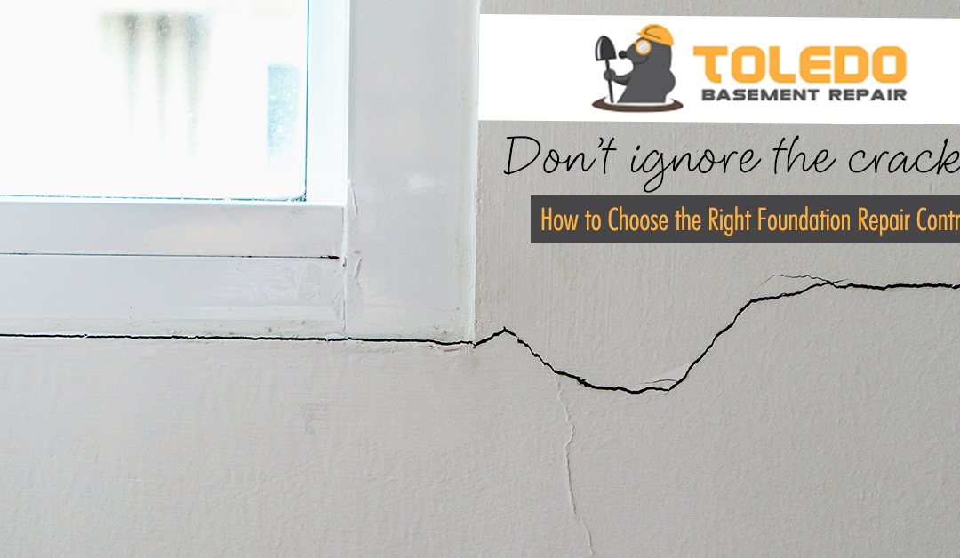 How to Choose the Right Foundation Repair Contractor