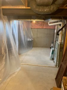 basement dust