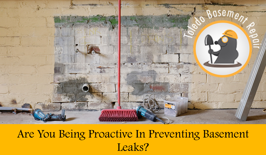 What Are You Doing To Prevent Basement Leaks?