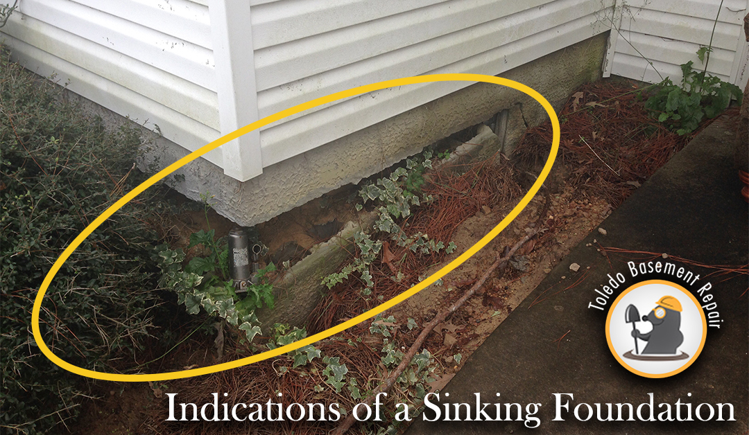sinking foundation