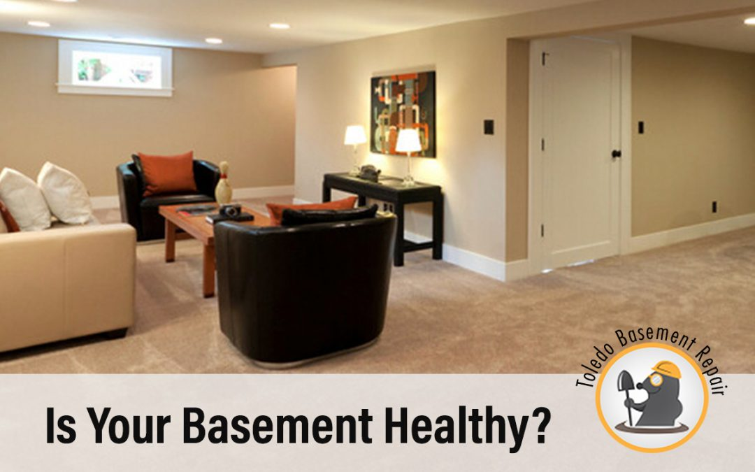 WHAT MAKES A HEALTHY BASEMENT?