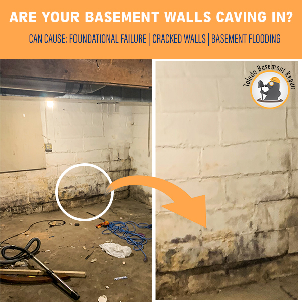 Why are your basement walls caving in?