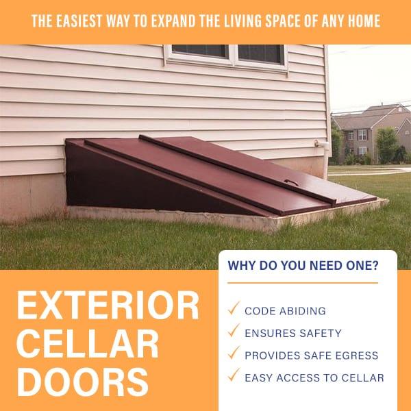 Easy Access Door For Your Basement