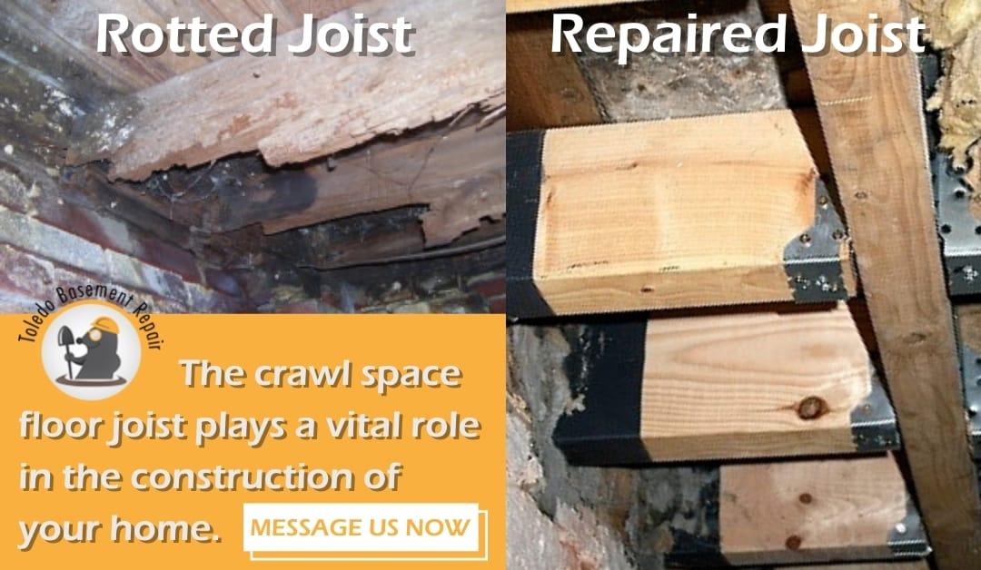 How to identify damaged joists