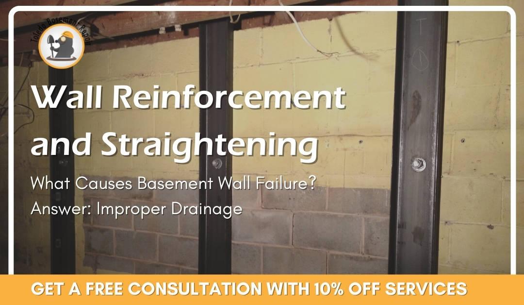 Basement Wall Reinforcements – Prevent Damage To Basement Walls